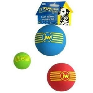 JW Pet ISqueak Ball -Medium squeaker ball for dogs