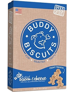 Cloud Star Itty Bitty Baked Bacon and Cheese dog treats