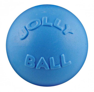 Jolly Pets Bounce N Play Blueberry 4 inch Dog Toy stands up to the roughest,toughest dogs