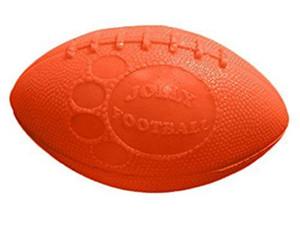 Jolly Pets Football 8 inch Dog Toy-Orange