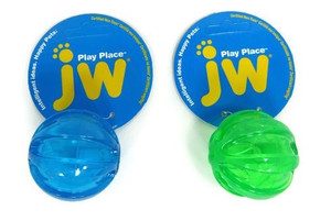 JW Pet Squeaky Dog Ball - Small