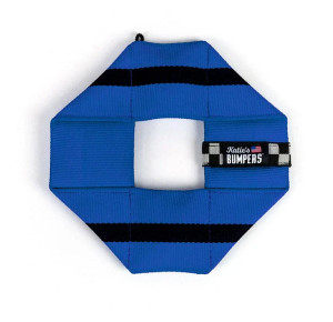 Katie's Bumpers Frequent Flyer Square Blue