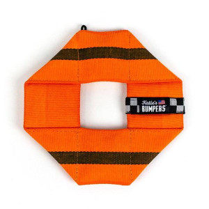 Katie's Bumpers Frequent Flyer Square Large-Orange