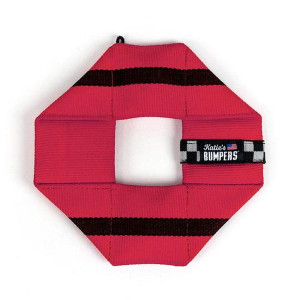 Katie's Bumpers Frequent Flyer Square Red