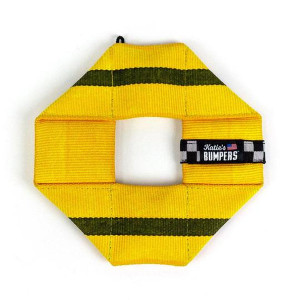 Katie's Bumpers Frequent Flyer Square Yellow
