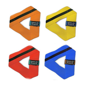 Katie's Bumpers Frequent Flyer Triangle Large