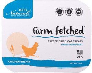 KCC Farms Freeze Dried Chicken Cat Treats
