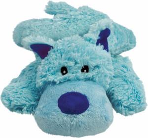 KONG Cozie Plush Dog Toy- Baily Blue Dog Medium