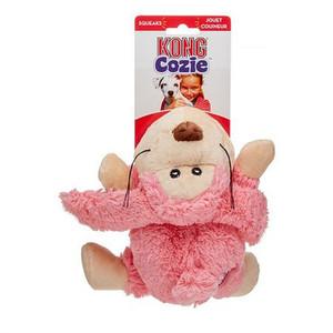 KONG Cozie Plush Dog Toy-Floppy Rabbit Medium