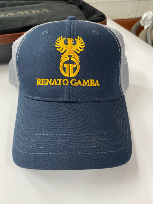 Renato Gamba Dark Blue Grey CAp