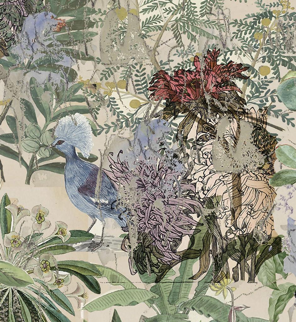 Wallpaper - Urban Sketches - Floral