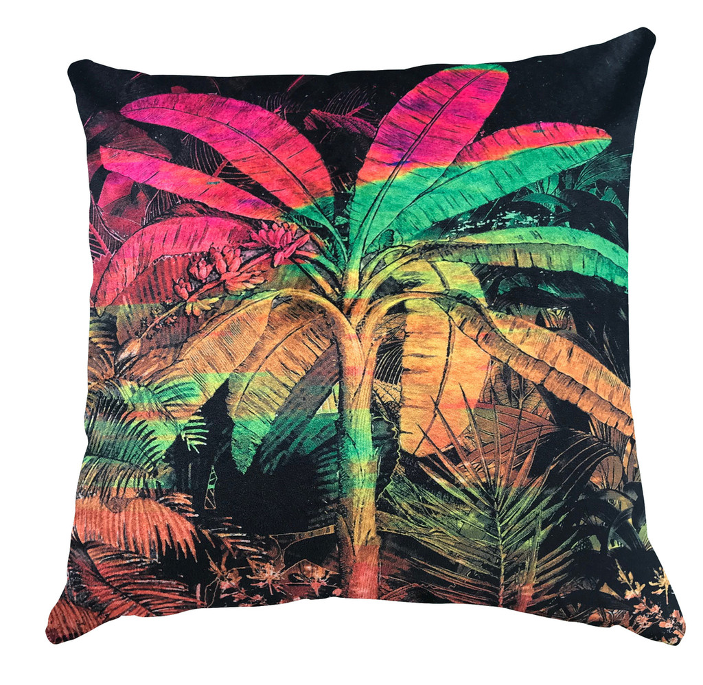 Cushion - Jungle Vibe - Fluro Palms