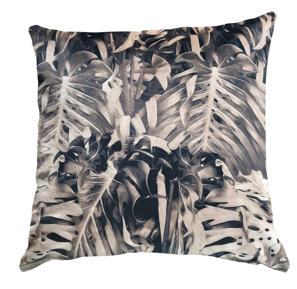 Cushion Cover - Jungle Vibe - Stone