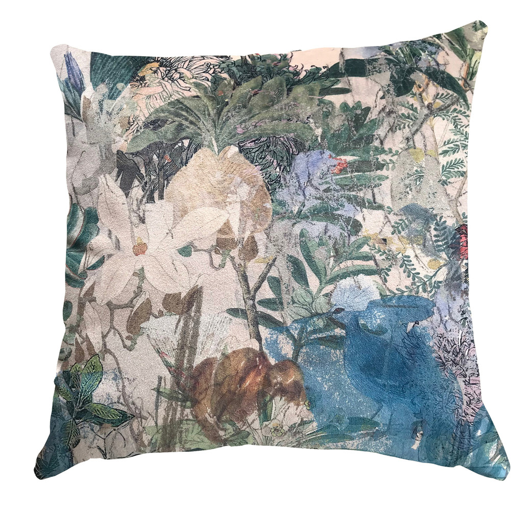 Cushion Cover - Urban Sketches - Floral