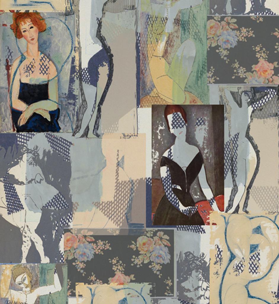 Fabric - Modigliani Was Here - Club des Filles