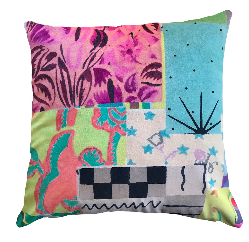 Cushion - Modigliani Was Here - Saturday Afternoon Party