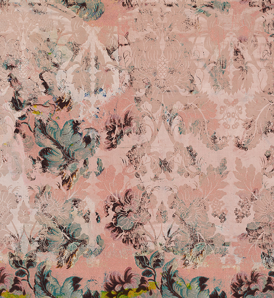 Wallpaper - Faded Empire - Fragmented Pink