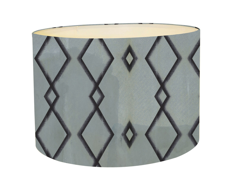 Lampshade - Blue Diamond