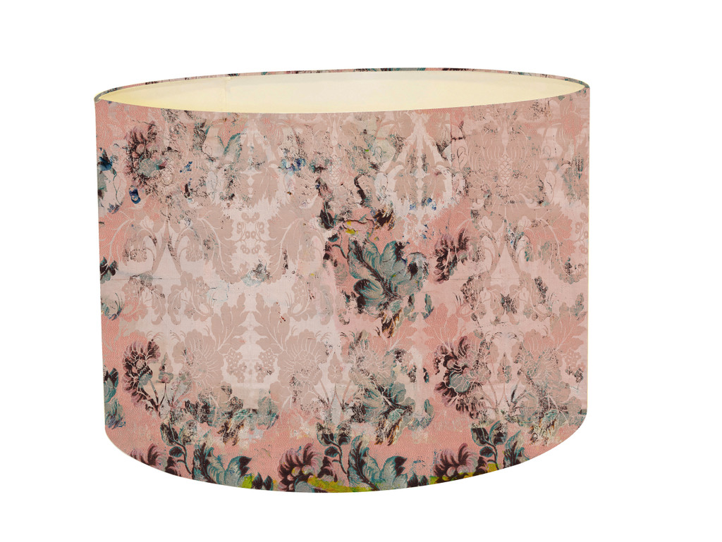 Lampshade - Faded Empire - Fragmented Pink