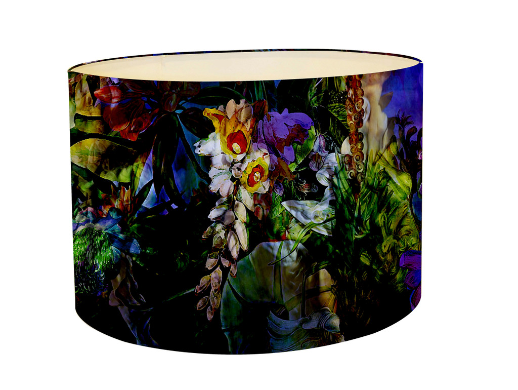 Lampshade - Flower Power - Luminescent