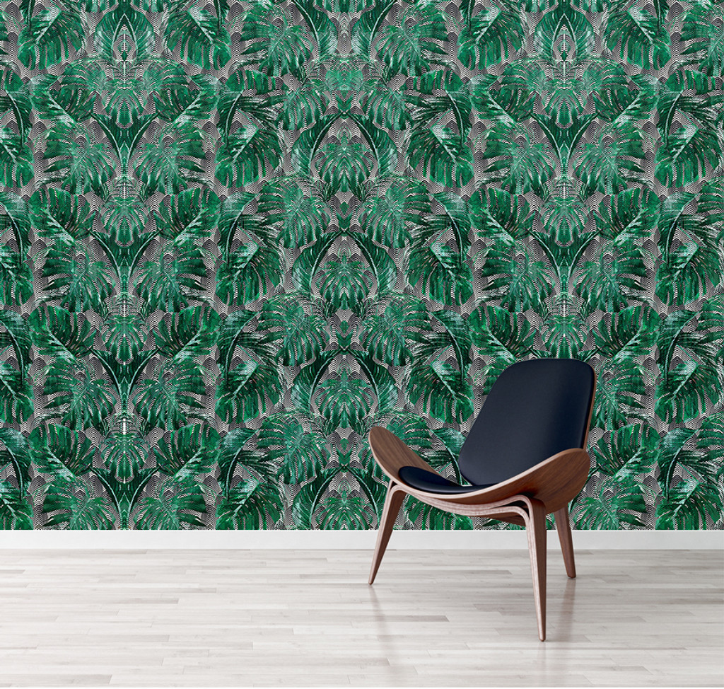Wallpaper - Palm Springs - Green