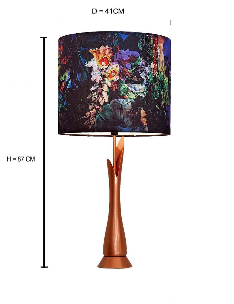 BRONZE LAMP BASE