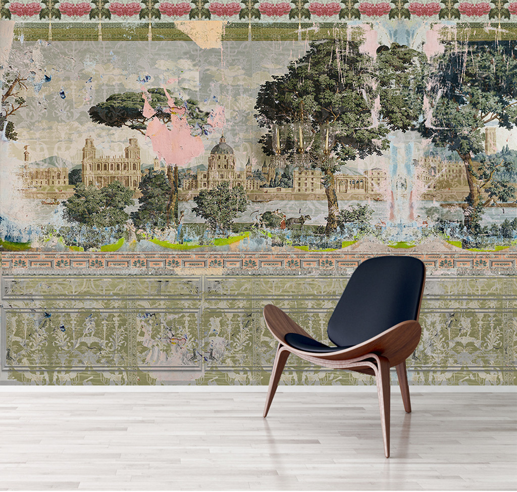 Wallpaper - Faded Empire - Restoration Project