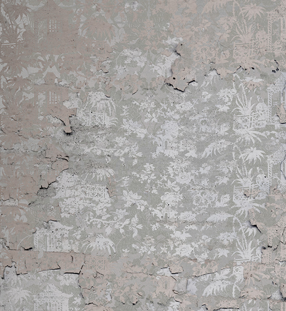 Wallpaper - Chinoiserie - Enchanted Garden in Fading Pink