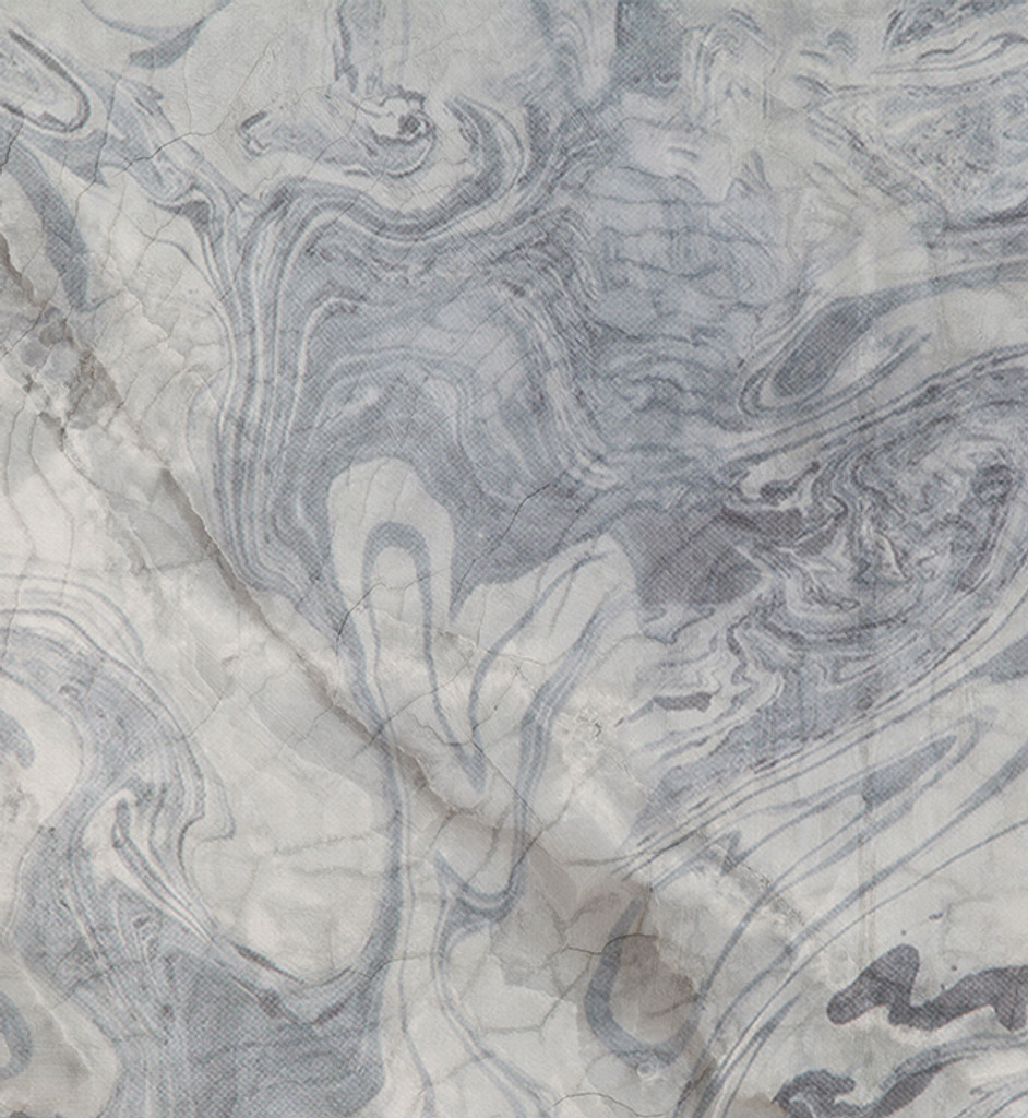 Wallpaper - Broken Marble- Licorice Swirl