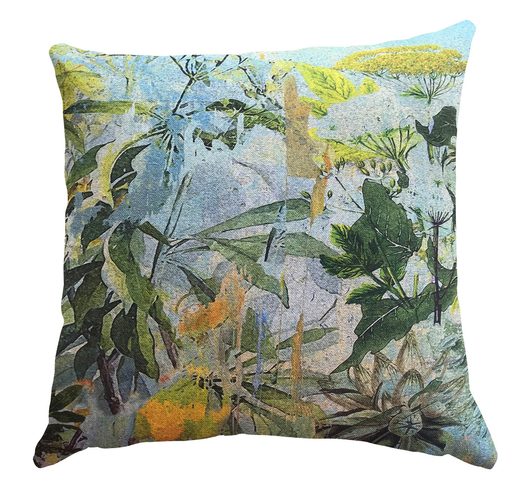Outdoor Cushion Cover - Wild Bunch in Blue