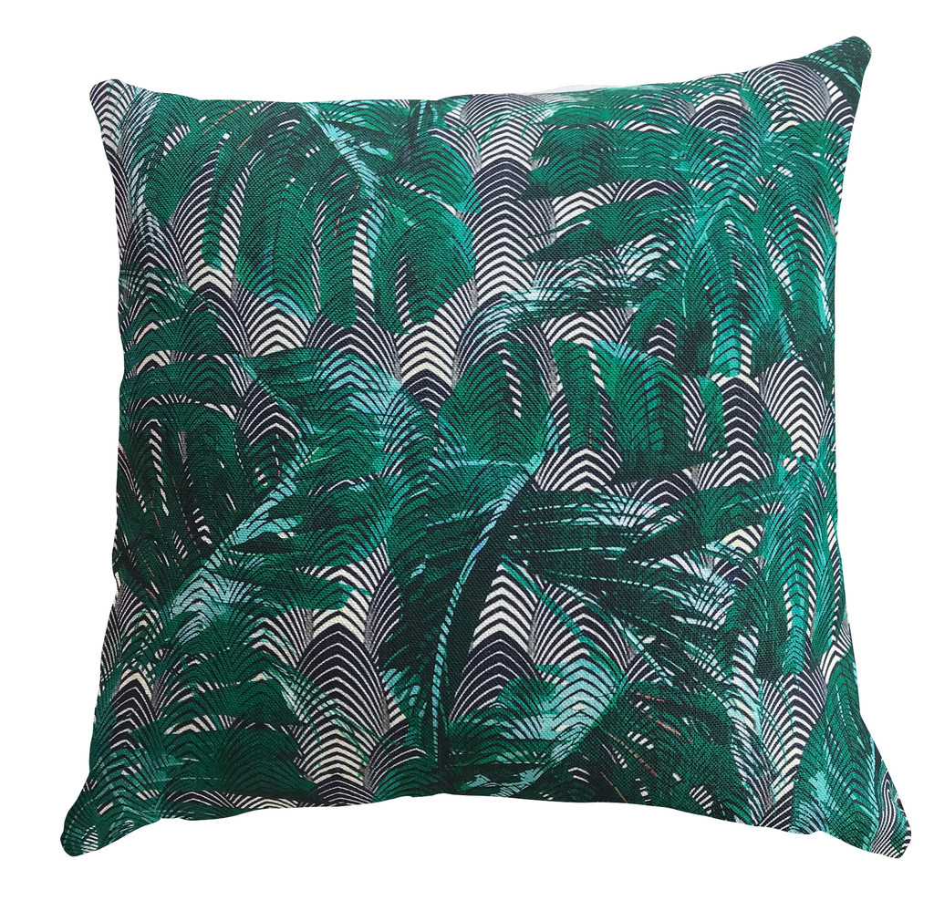 Outdoor Cushion Cover - Palm Springs - Green
