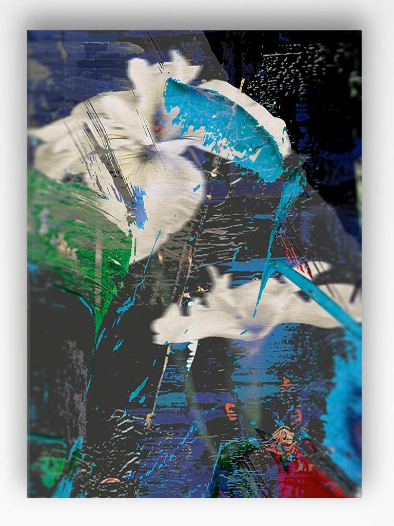 Art Print - Blurred Vision - Blue Iris
