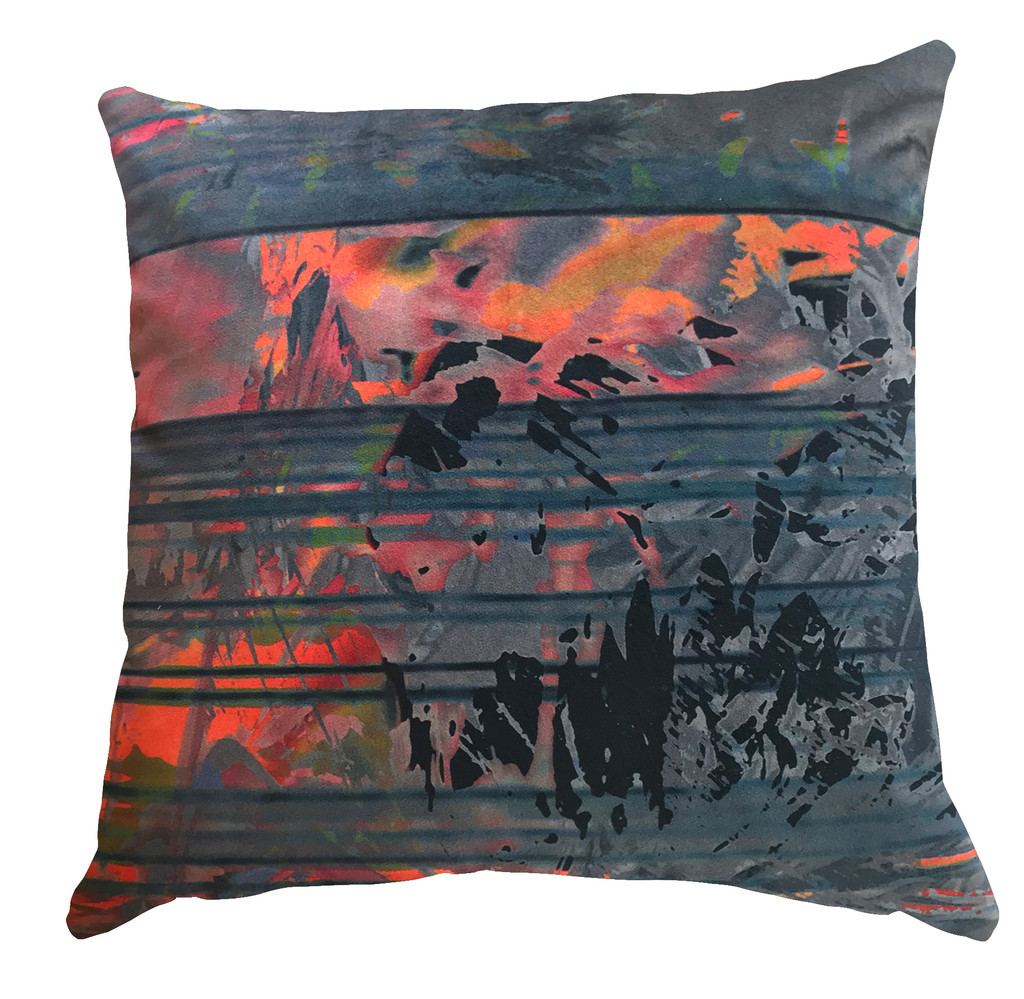 Cushion Cover - Blurred Vision - Nothing to See Here