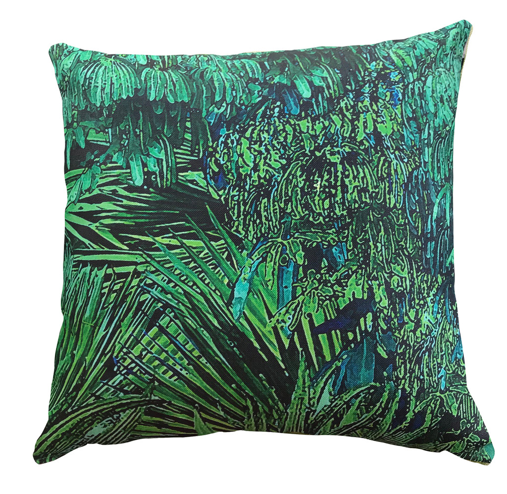 Outdoor Cushion Cover - Jungle Vibe