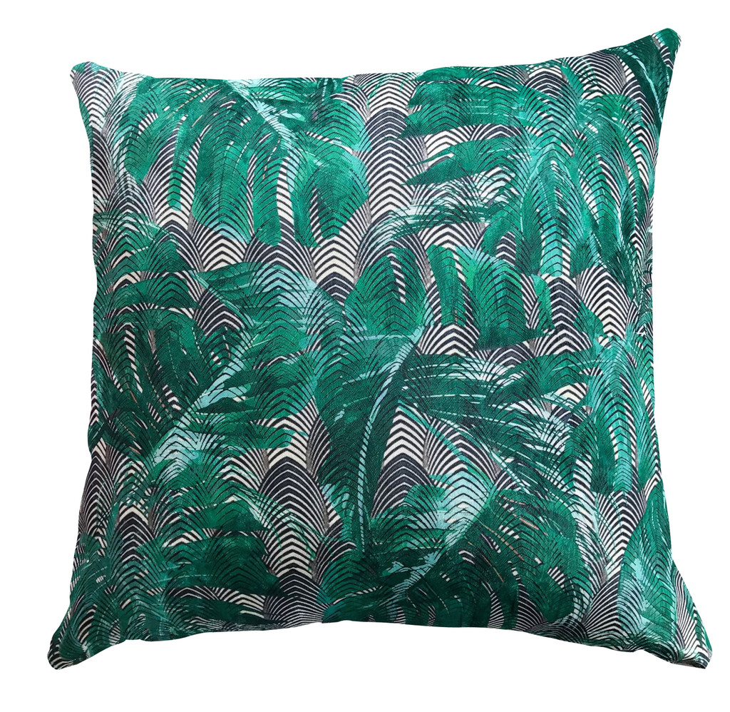 Outdoor Cushion Cover - Squashed Tin - Palm Springs