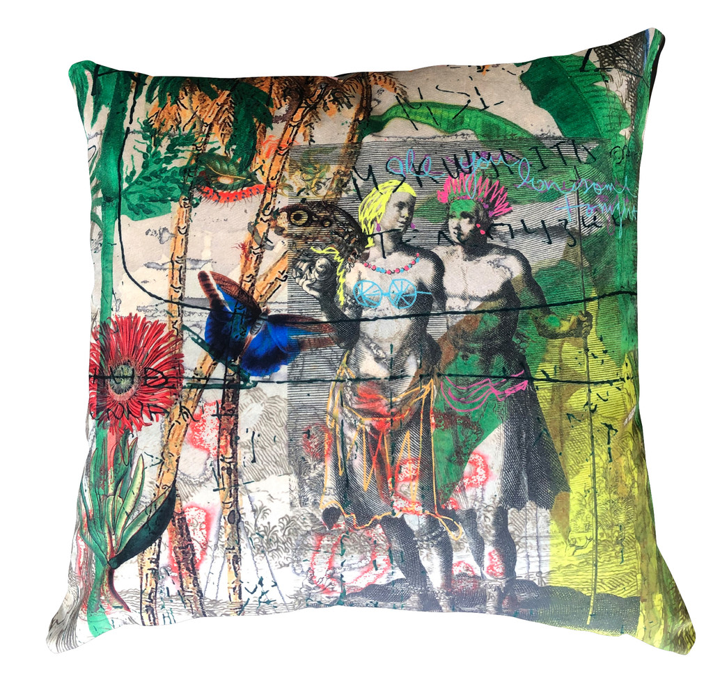 Cushion Cover - Are you lonesome tonight