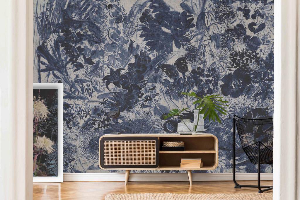 Wallpaper -  Wildflowers - Inky