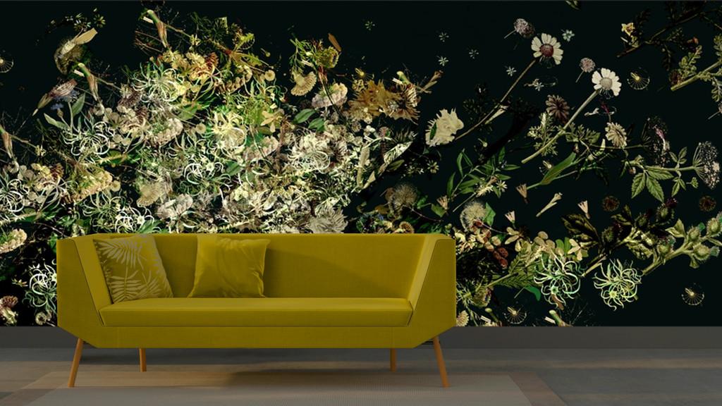 Wallpaper - Floral Explosion