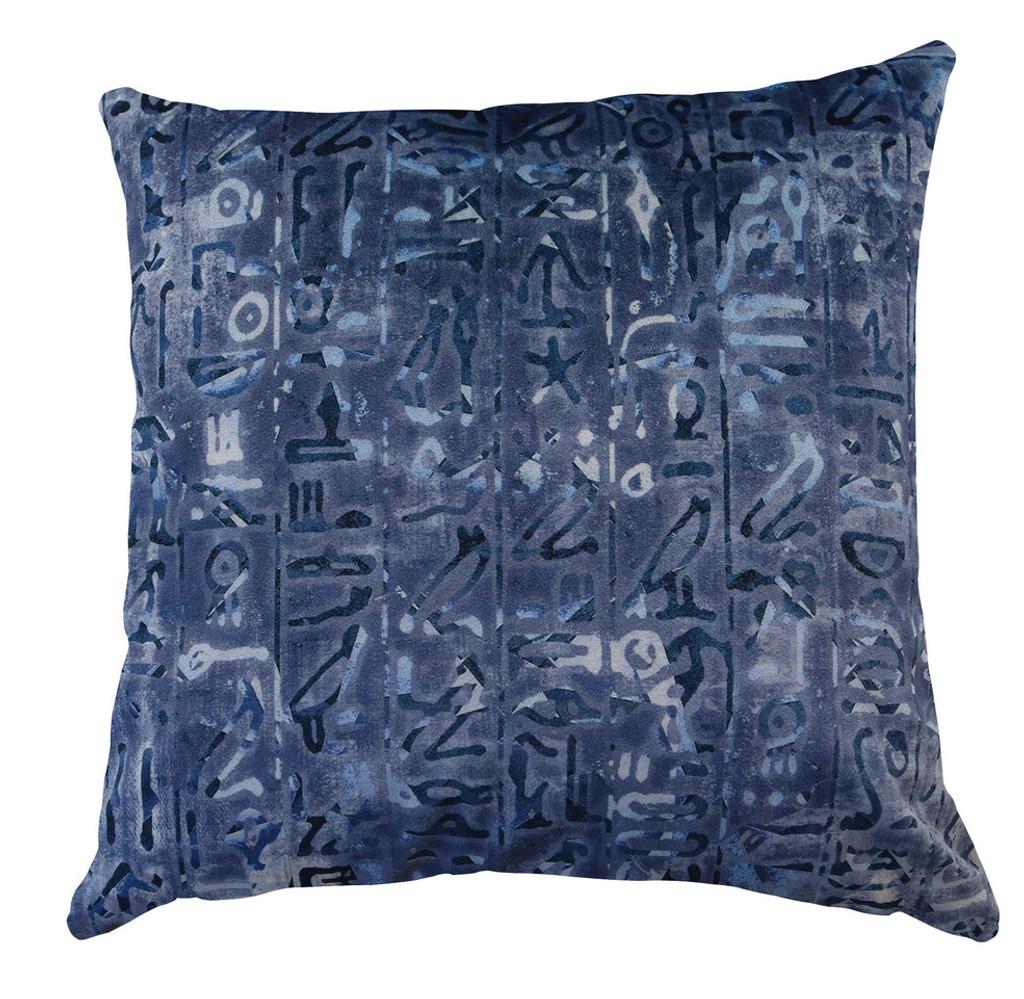 Cushion Cover - Walk Like an Egyptian - hieroglyphics