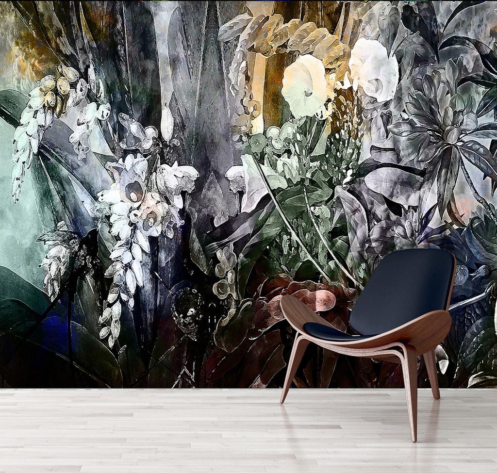 Wallpaper - Flower Power - Incandescent