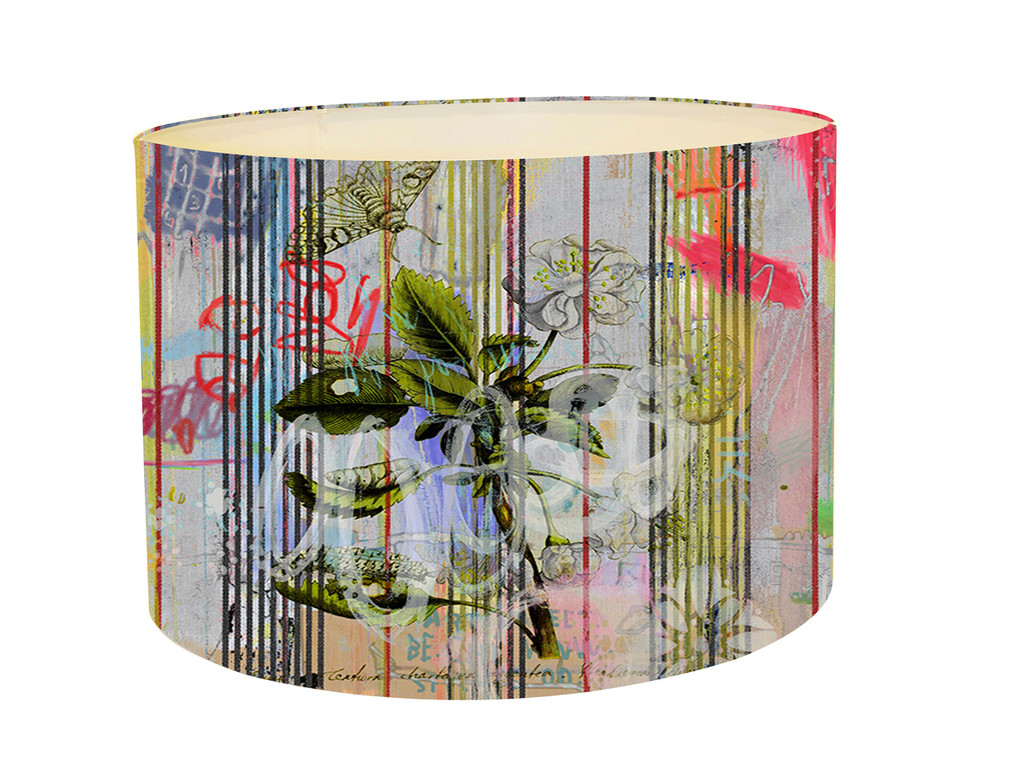 Lampshade - Botanical Ticking - Floral