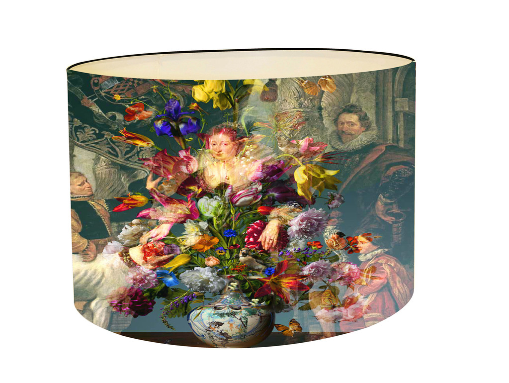 Lampshade - Countess with Flowers