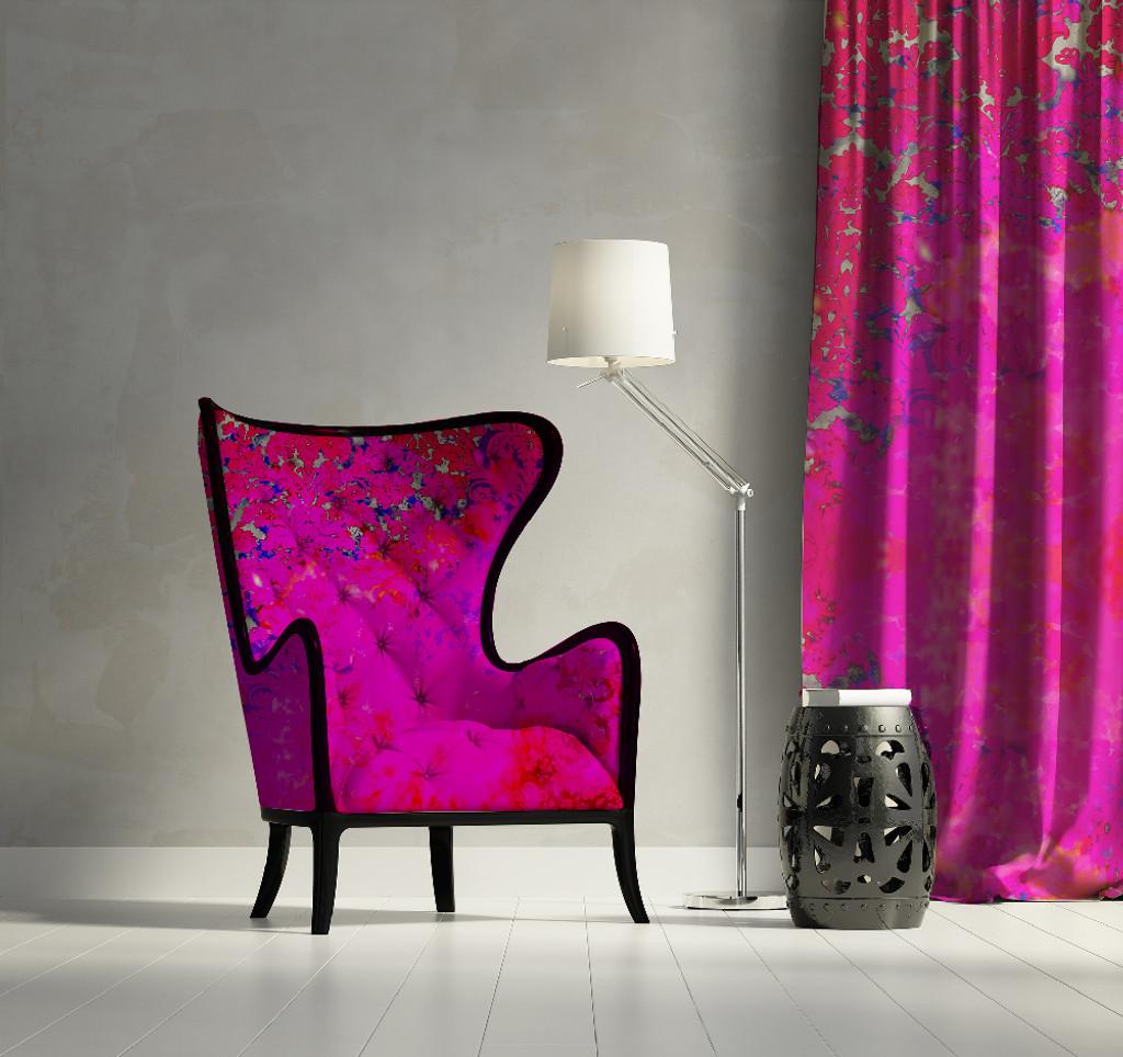 Fabric - Colour Crash - Fuchsia Splash