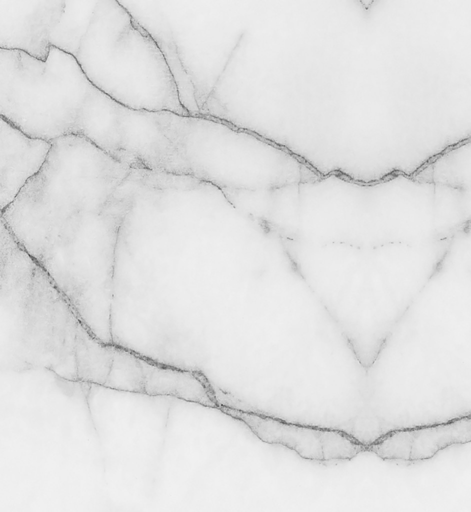 Fabric - Marble - Grey and White