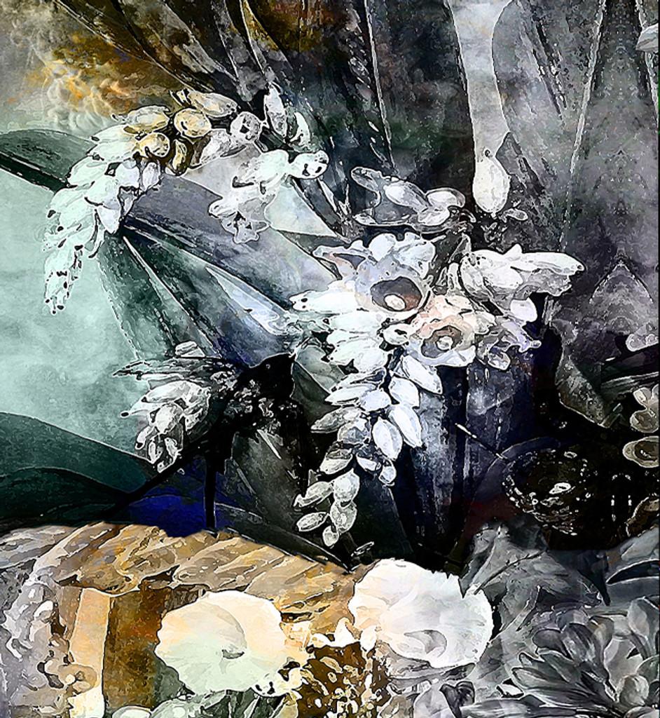 Fabric - Flower Power - Incandescent
