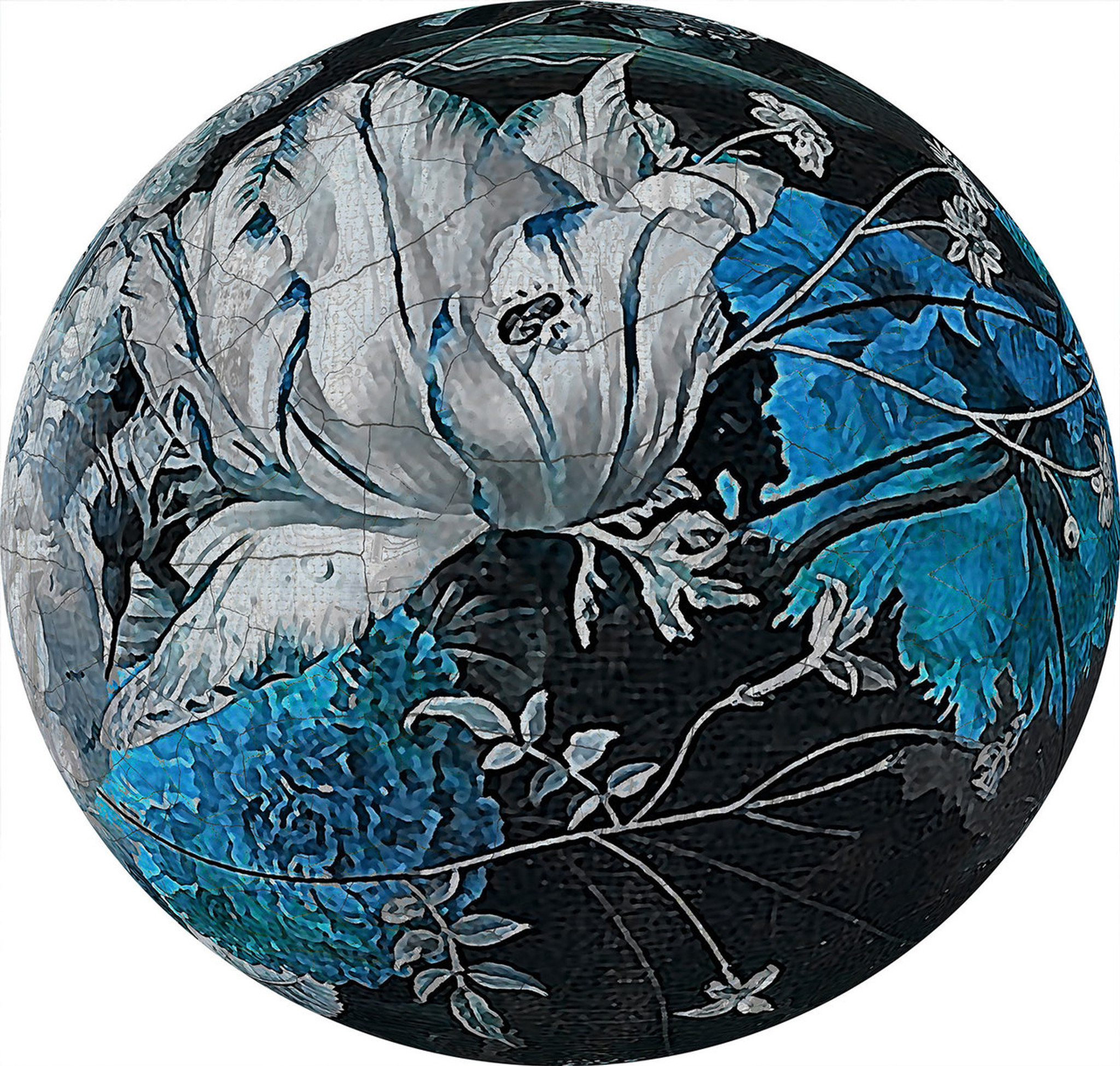 Art Decals - Still Life Blue
