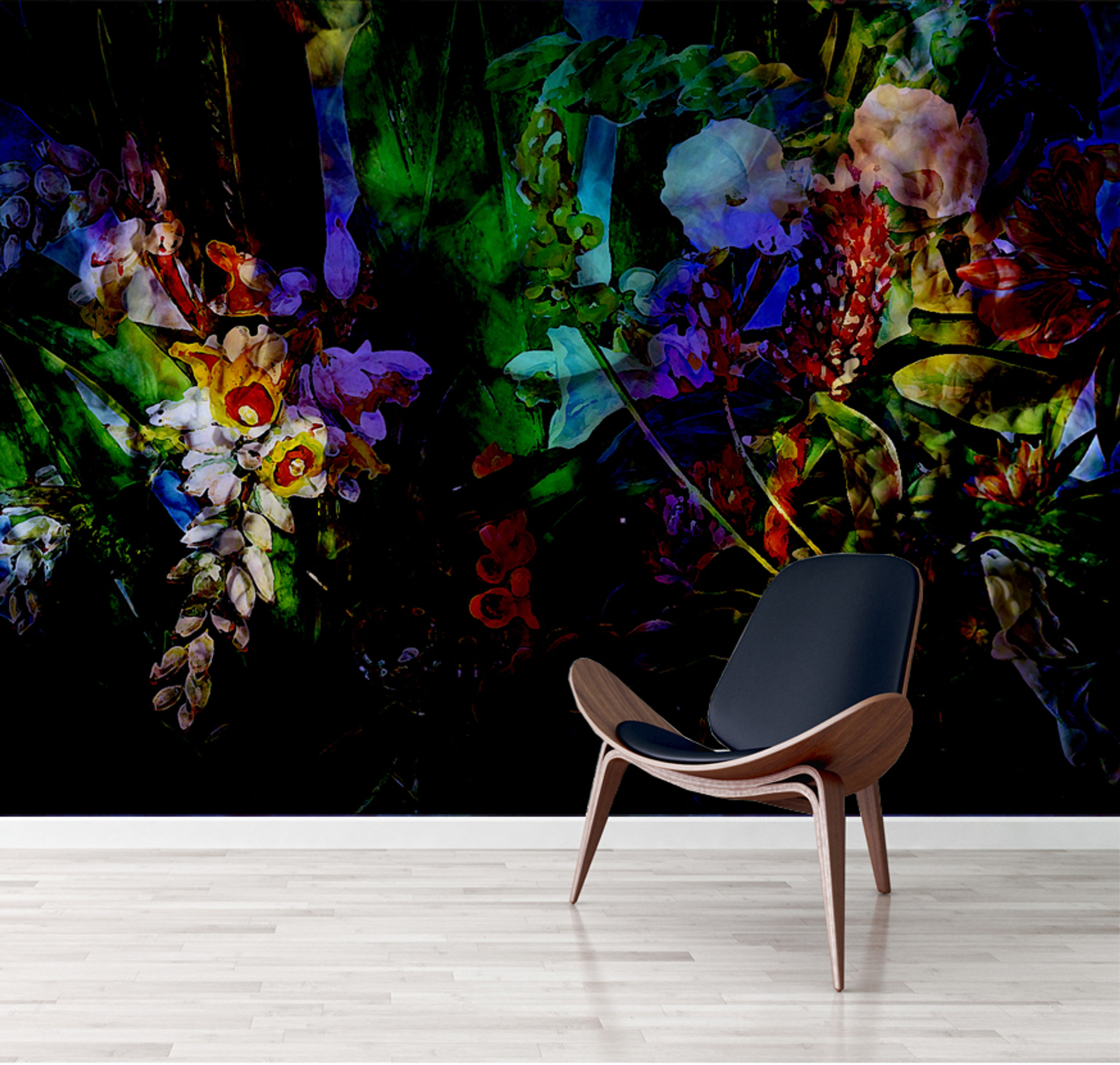 Wallpaper - Flower Power - Luminescent