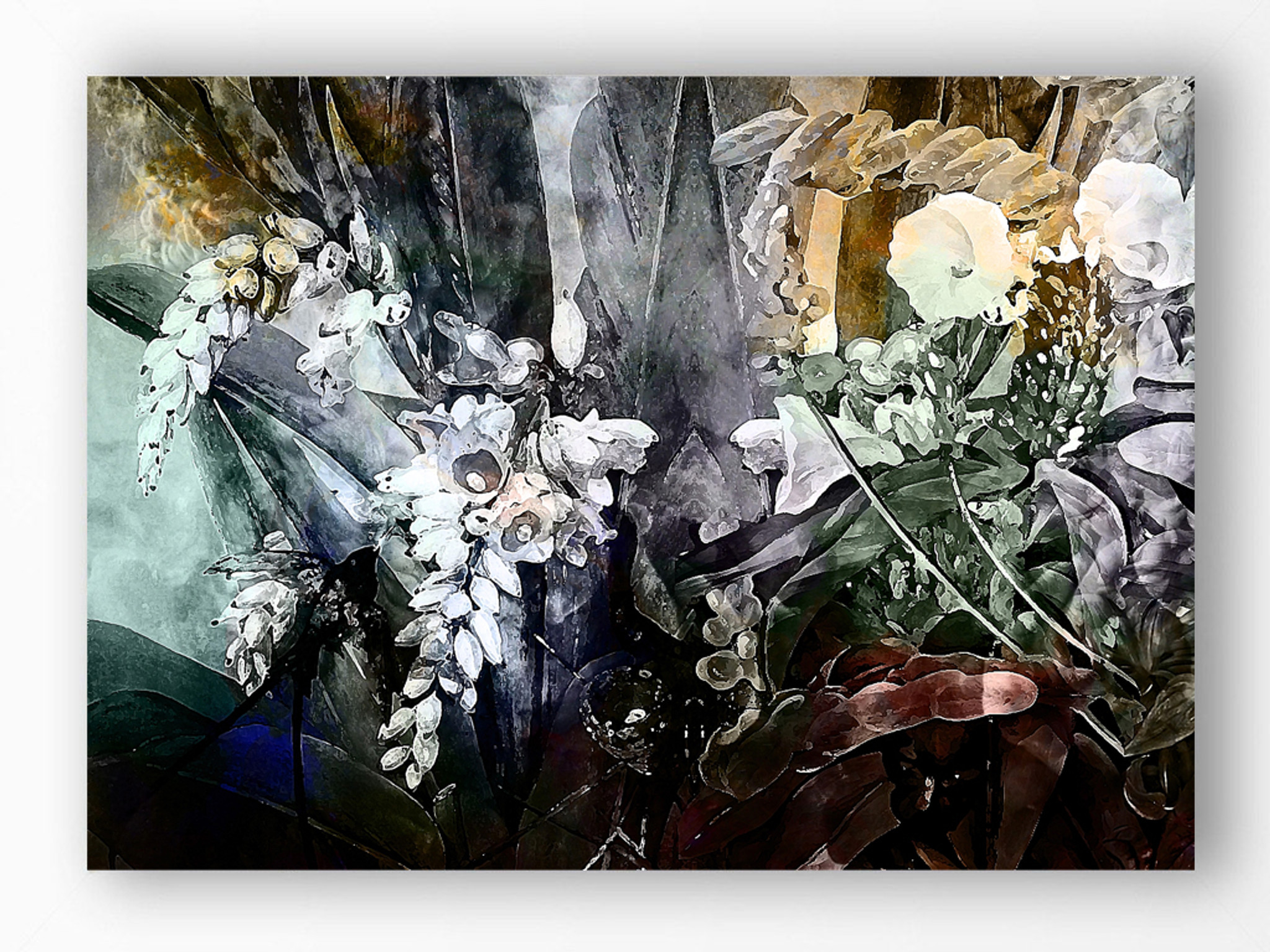 Art Print - Flower Power - Incandescent