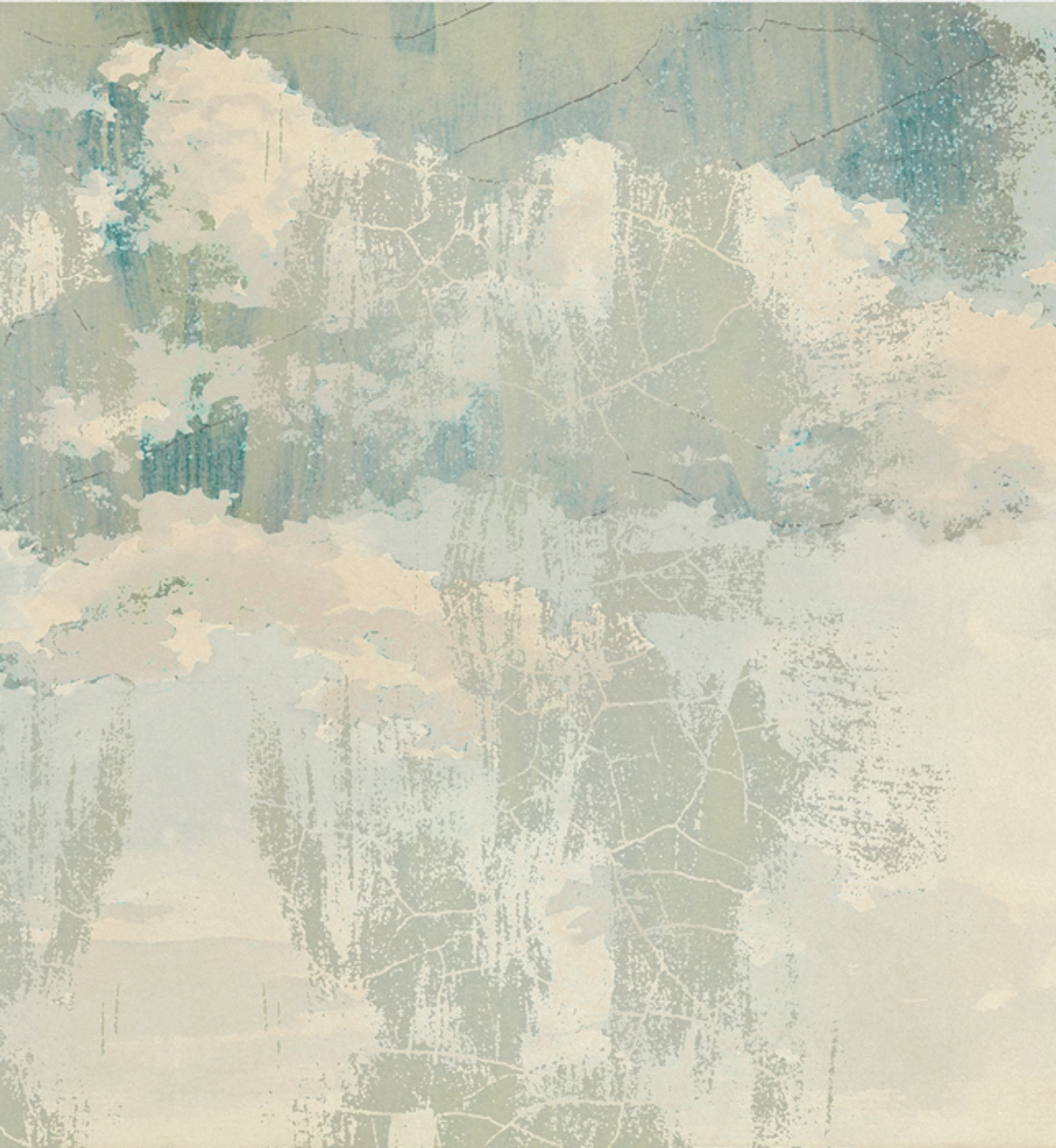 Wallpaper - Urban Sketches - Broken Clouds