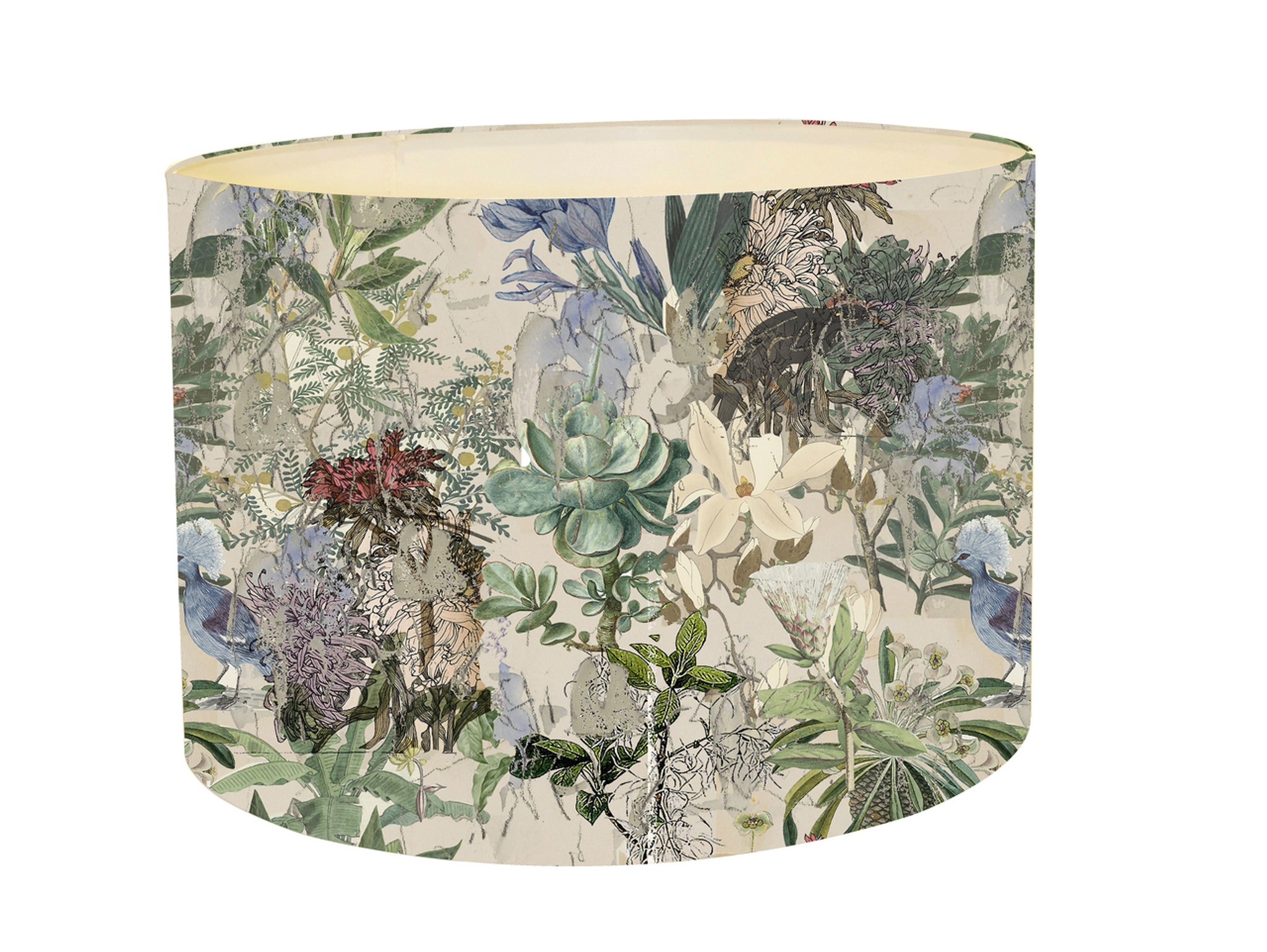 Lampshade - Urban Sketches - Floral